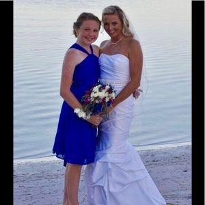 Junior bridesmaid dress - size 16